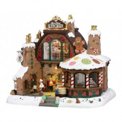 Mrs. Claus' Kitchen with 4.5V Adapter Ref. 85314