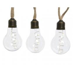 30-LED Light Bulb String Lights 270 cm