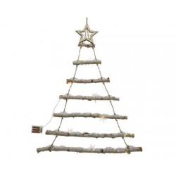 Wooden Light-Up Tree 90 cm