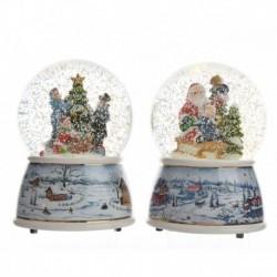 LED Animated Snow Globe 15 cm (1 Unit)
