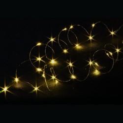 Warm White LED String Lights 140 cm