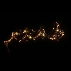Warm White LED String Lights 200 cm