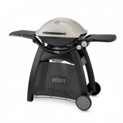 Barbecue a Gas Q 3000 (con Carrello Integrato) Titanium Weber Cod. 56060029