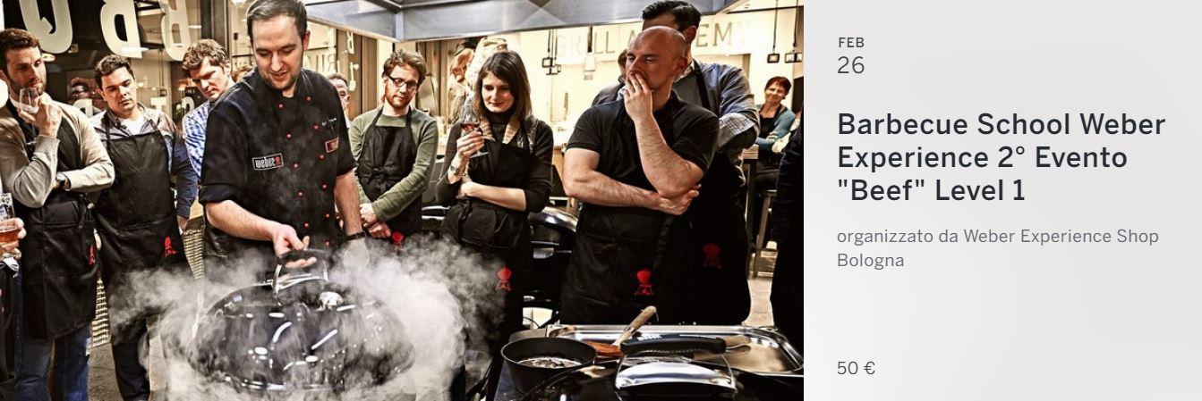 Corso Barbecue Weber Bologna 2