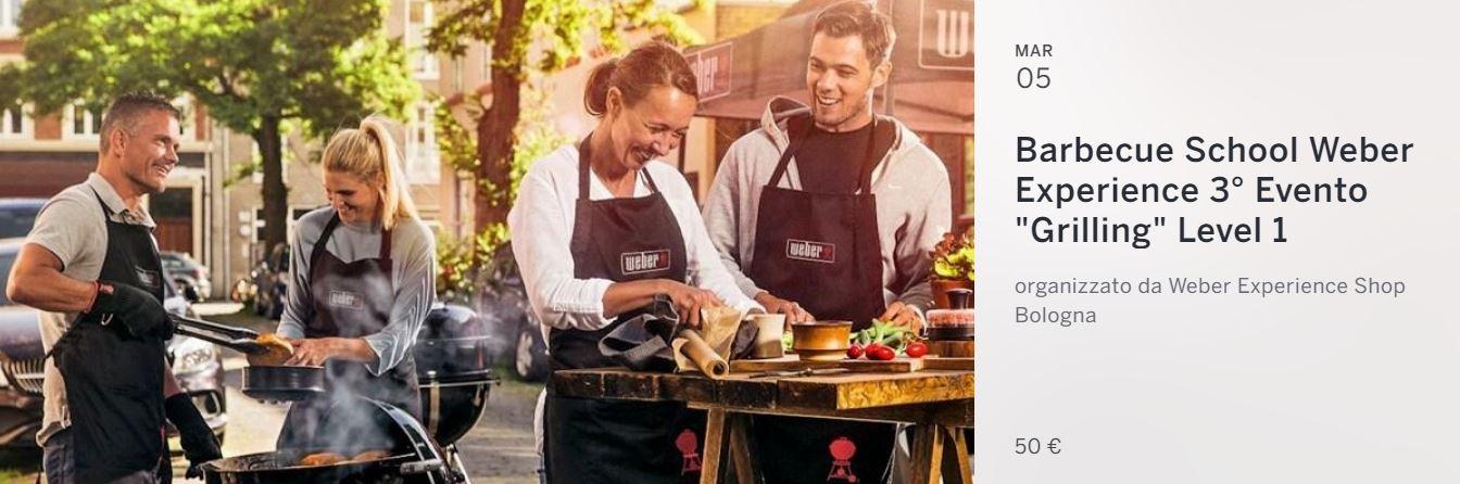 Corso Barbecue Weber Bologna