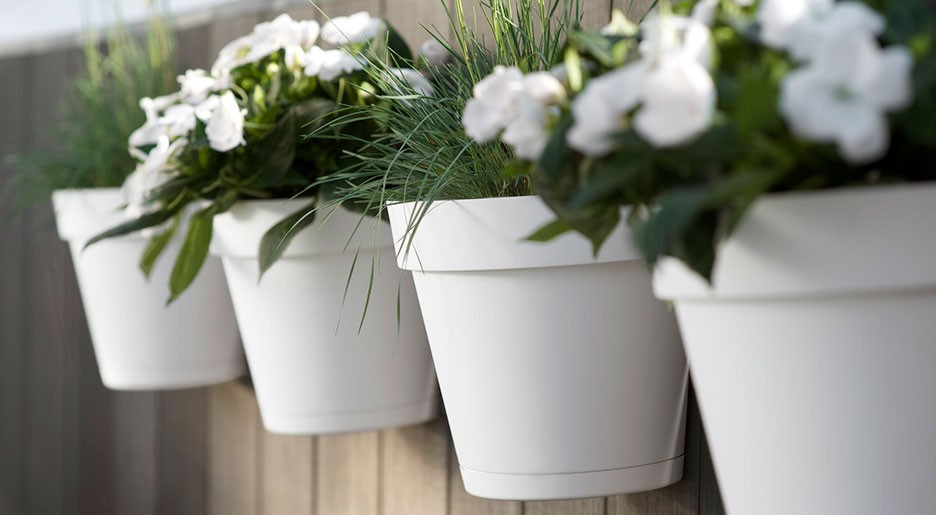 Vasi e fioriere in Plastica