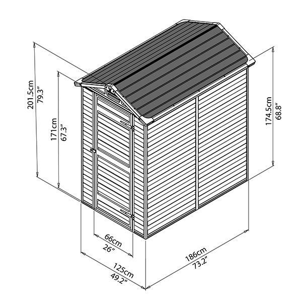 garden igloo 360 x h220 cm. Black Bedroom Furniture Sets. Home Design Ideas